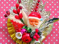 Old Christmas Corsages