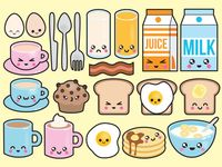 Stickers, doodle / free printable for planner, midori...