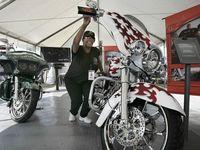 Black female Harley rider | stuff I like | Pinterest  |African American Harley Riders