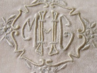 Monograms and Embroidered Linens