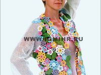 CROCHET jackets, vests,........mo