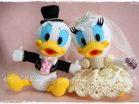 Amigurumi Daffy Duck : 1000+ images about Gehaakte : disney on Pinterest