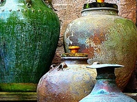 Baskets, Pottery and Stoneware...