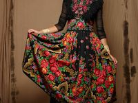 folk dress / fashion inspiration