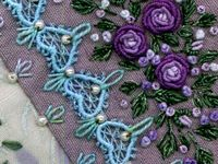 ✂ Crazy Quilt Embroidery Stitches