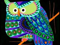 ArtEd- Owls