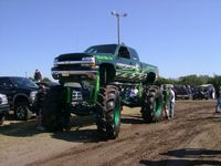 jacked up chevy love