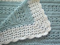 Crochet baby blanket inspiration