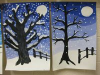 winter knutsel