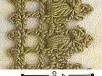 orillas de crochet