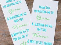 Gifts - Teachers