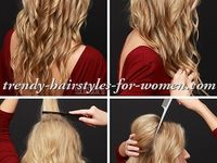 To Do After Curling Your Hair Also Image Of Hairstyle Ideas Bangs ...