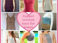 crochet womens tops patterns