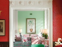 14 best images about Dorothy Draper Decor at The Greenbrier on