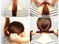 Hair style / Bun