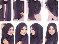 Hijab and hairstyles