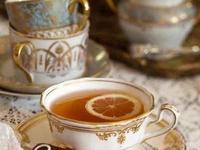Tea with scones, please.