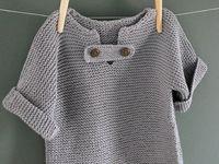 crianças tricot