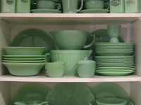 Jadeite, Pyrex,  vintage glassware