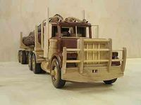1000 images about wooden vehicles on pinterest for Wood floor for 379 peterbilt