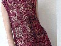 vestidos tejidos al crochet
