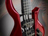 Bass guitar art at its finest.