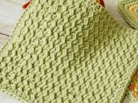 Crocheted Dishcloths and Potholders