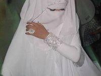 Bridal Hijabs/Veils/Headpieces