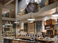 Com. Int: Cafe - bakery - to go food - interiors