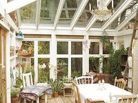 Conservatories and glassed verandas/porches. See also 'Great Greenhouses'
