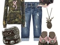 Clothes, boots and jewelry