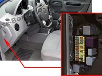 9 Chevrolet Aveo (2007-2011) fuses and relays images | chevrolet aveo, fuse  box, electrical fusePinterest