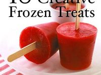 Popsicles and frozen goodies