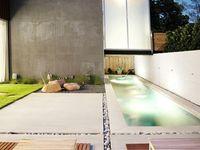 back yard / deck