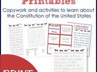 1 - Social Studies - Constitution Day Sept. 17