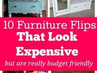 Furniture flips and repurpose