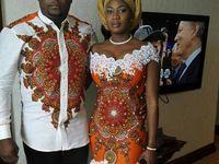 Maud mariage africain