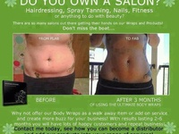 From our top seller, the ulimate BODY WRAP  to our amazing facials, suppliments, weight management and personal care products IT WORKS do work!  I'm proud and honored to be a distributor. Contact me with any questions or to place an order!  Happy Wrapping <3