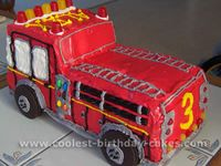 Fire Engine party theme