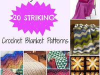 Crochet blankets and crochet blanket patterns. The best of the best from around the web to inspire you in making your own crochet throws, afghans, lapghans and bedding.