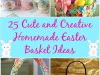 Easter baskets DIY
