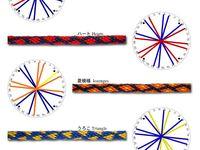 Jewellery: Kumihimo patterns