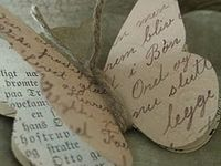 I ♥ Old Book Pages!