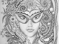 mandalas and zentangles