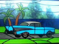 17 Best Images About Stained Glass Transportation On