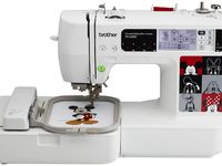 Embroidery machine reviews, Brother embroidery machine and Embroidery machines