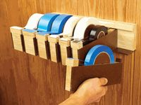 ... ideas on Pinterest | Woodworking Plans, Tape Dispenser and Wood Store