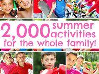 Summer:  Crafts/Fun for Children