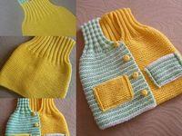 Pletené a háčkované věci