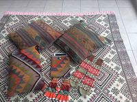 Round Trip Turkey - Candy rugs / Handmade rugs. You can use both sides. 100% cotton. Washable. Size 2 x 3 meter.